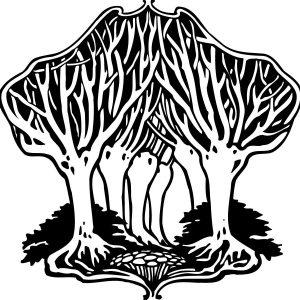 Baum Allee Gruppe