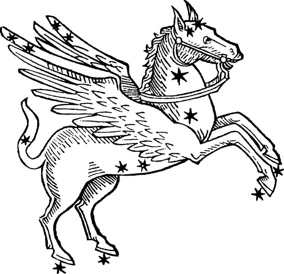 Pegasus Stempel