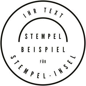 Stempel rund Logo
