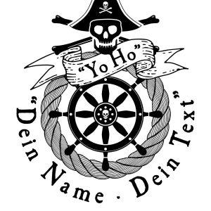 Piraten Logo Stempel